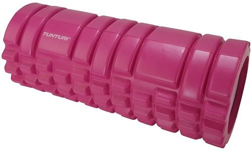 Tunturi yoga grid foam rollers roze 2