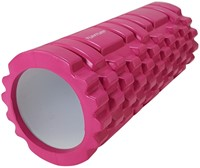 Tunturi yoga grid foam rollers roze