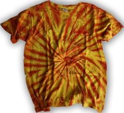 Gorilla Wear Tye Dye Sun Burst