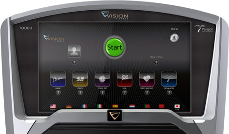 Vision Fitness U20 Touch Hometrainer-2