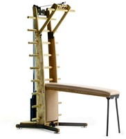 WeightWorkx Homegym club met echt leer