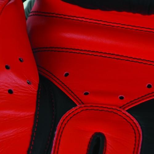 Adidas Safety Sparring Bokshandschoenen Velcro Zwart-Rood-2