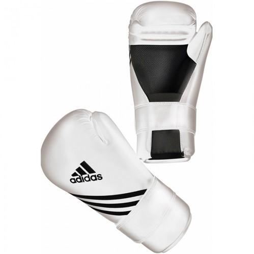 Adidas Semi Contact Gloves - Bokshandschoenen - Wit
