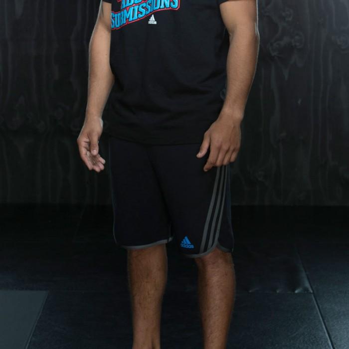 Adidas Leisure Fleece Short Zwart-Beluga-S
