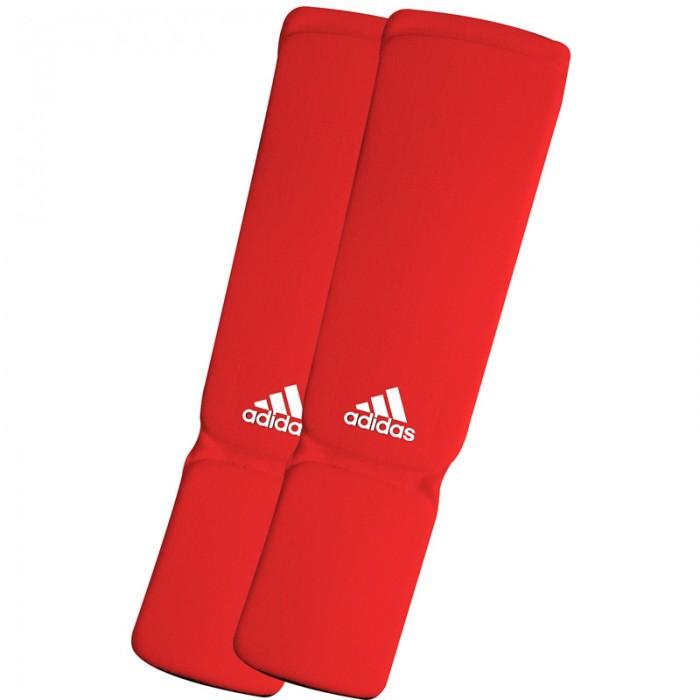 Adidas Elastische Scheenbeschermers Rood M
