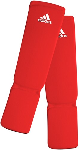 Adidas Elastische Scheenbeschermers - Rood