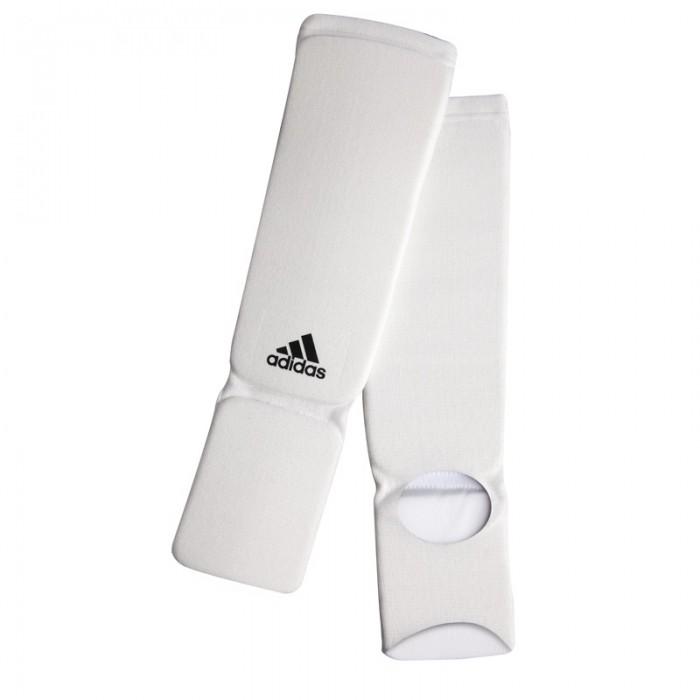 Adidas Elastische Scheenbeschermers Wit XL
