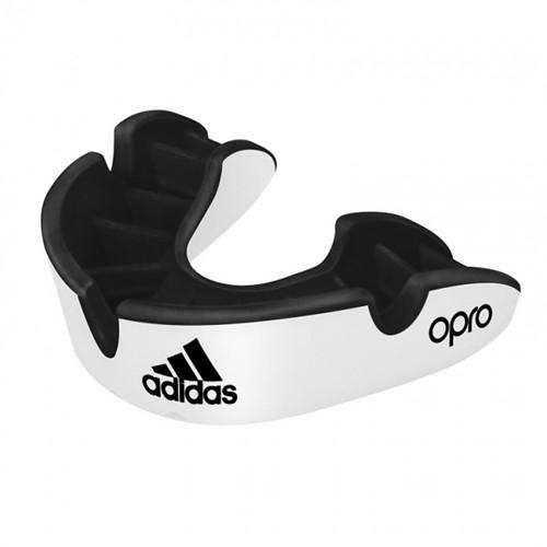 Adidas Gebitsbeschermer Opro Gen4 - Silver Edition - Zwart/Wit