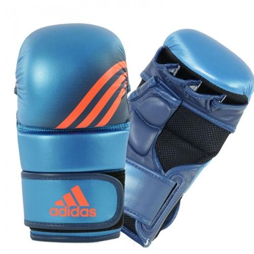 Adidas Training Grappling Handschoenen Blauw