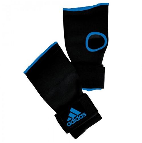 Adidas Gevoerde Binnenhandschoen met Bandage - Zwart/Blauw - XL