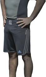 Adidas Grappling Short Beluga Zwart