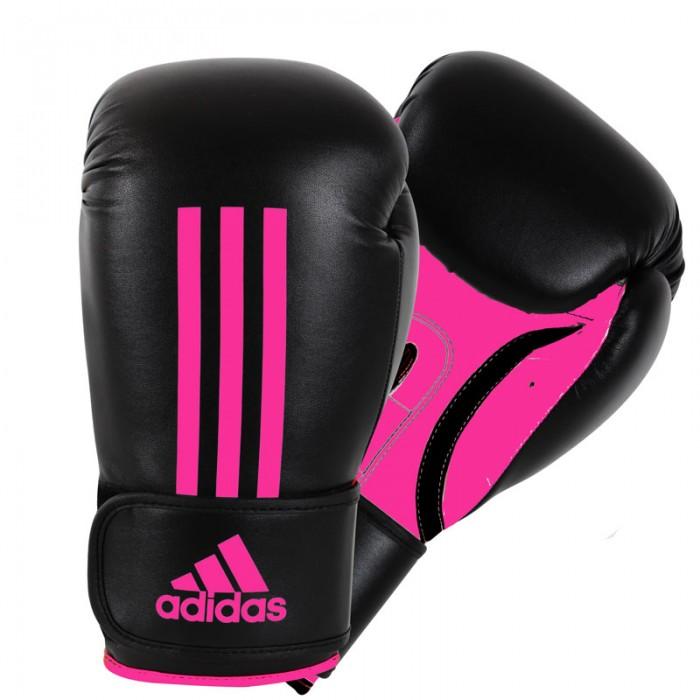 Adidas Energy 100 (Kick)Bokshandschoenen Zwart-Roze_14 oz