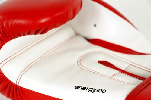 Adidas Energy 100 (Kick)Bokshandschoenen Rood-Wit-2