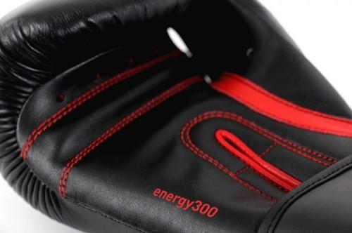 Adidas Energy 300 (Kick)Bokshandschoenen Zwart-Rood-2