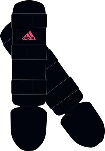 Adidas Scheenbeschermer Good - Zwart/Roze