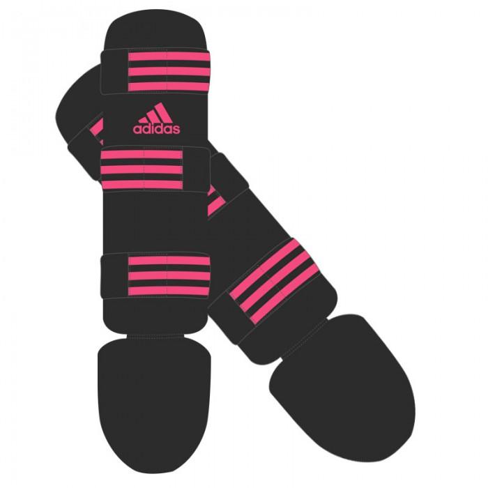 Adidas Scheenbeschermer Good Zwart Roze XL