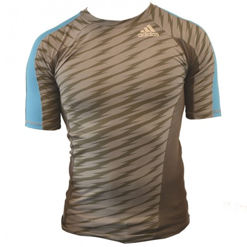 Adidas Ultimate Athlete Rashguard Korte Mouw
