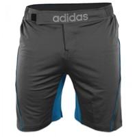 Adidas Training MMA Short Grijs Blauw-1