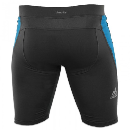 Adidas Training Short Closefit Beluga Zwart-2