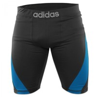Adidas Training Short Closefit Beluga Zwart-1