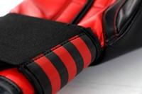 Adidas Power 100 (Kick)Bokshandschoenen  Zwart-Rood-2