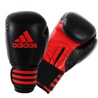 Adidas Power 100 (Kick)Bokshandschoenen  Zwart-Rood-1