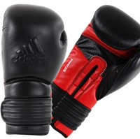 Adidas Power 300 (Kick)Bokshandschoenen Zwart-Rood