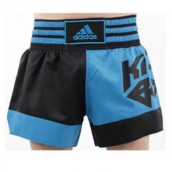 Adidas Kickboxing Short Zwart Blauw