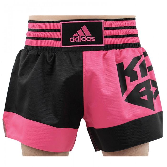 Adidas Kickboxing Short Zwart Roze M