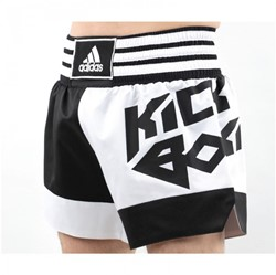 Adidas Kickboxing Short Zwart Wit