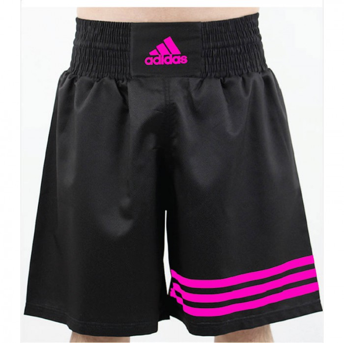 Adidas Multi (kick)Boxing Short Zwart Roze S