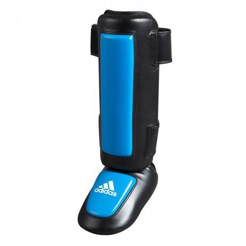 Adidas Pro Style Scheenbeschermers - Zwart/Blauw