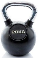 Kettlebell 28 kg rubber