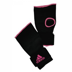 Adidas Gevoerde Binnenhandschoenen Met Bandage Zwart-Roze - Maat S - Verpakking beschadigd