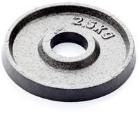 Gietijzer schijf 2.5 kg (50 mm)