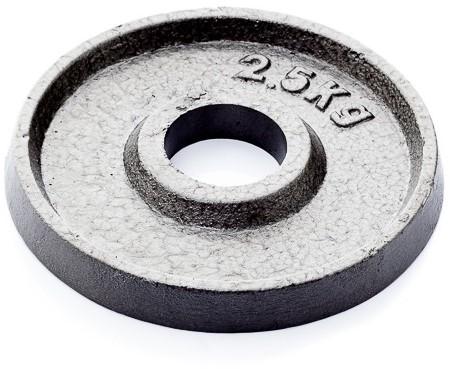 Muscle Power Gietijzeren Halterschijf - 50 mm - 2,5 kg