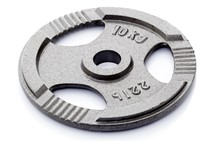 Gietijzer schijf 10 kg (50 mm)