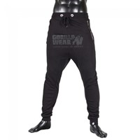Gorilla Wear Alabama Drop Crotch Joggers - Black-1
