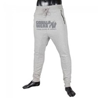 Gorilla Wear Alabama Drop Crotch Joggers - Gray-1