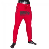 Gorilla Wear Alabama Drop Crotch Joggers - Red-1
