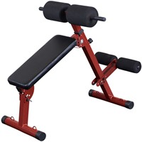 Body-Solid (Best Fitness) Ab Board Hyperextension - Rood