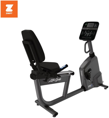 Life Fitness RS1 Track Connect Ligfiets - Gebruikt