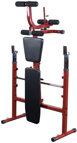 Body-Solid (Best Fitness) Olympic Bench - Rood-2
