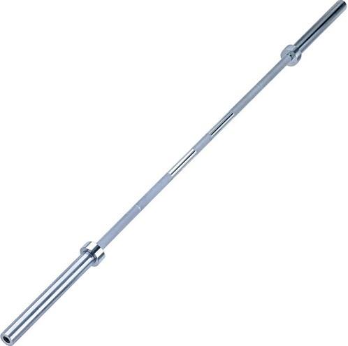 Body-Solid Olympic Power Bar - 150 cm - Chroom