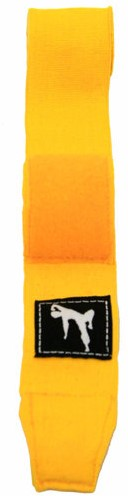 Bruce Lee Boxing Wraps - Geel