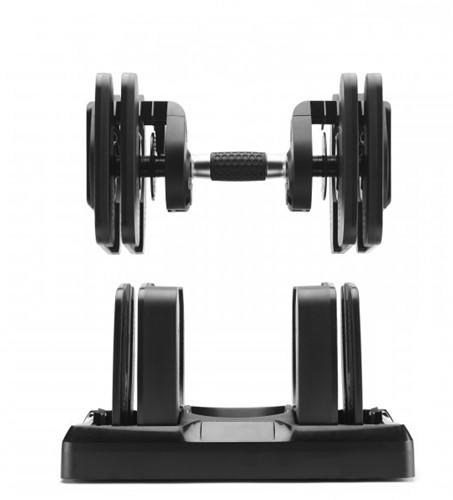 Bowflex SelectTech 560i Smart Dumbbells met Houder