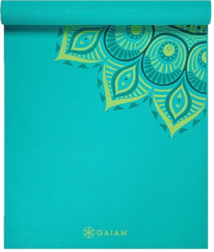 Gaiam Yoga Mat - 6 mm - Capri