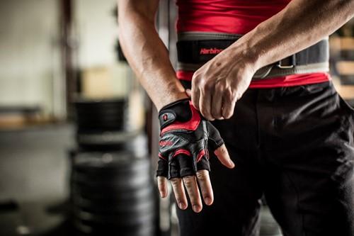 Harbinger FlexFit Wash&Dry Black/Red-2