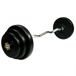 Curlstang Halterset Gietijzer 100kg