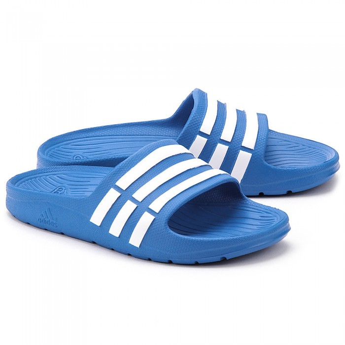 Adidas Duramo Slippers Slide Blauw Junior 35